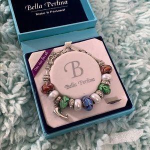 Bella Perlina Dolphin Bracelet